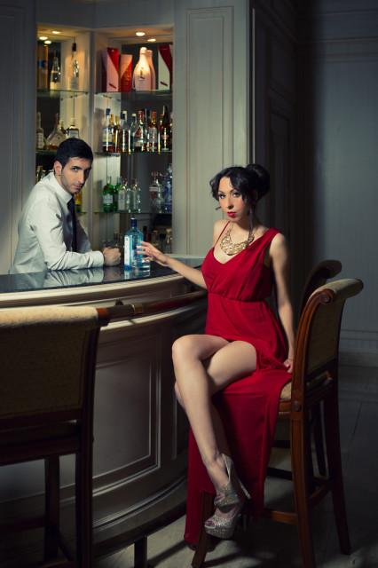Barra Toletum Quimera Modelo: Natalia Madrid y Ruben Ortiz MUA: Samuel Miranda