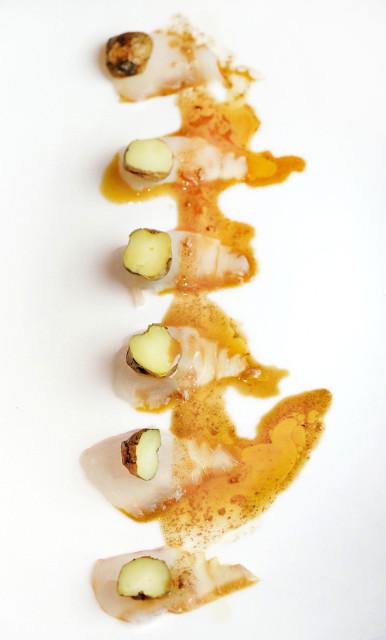 Foto gastronomica, Chef Ricardo Sanz (KABUKI)