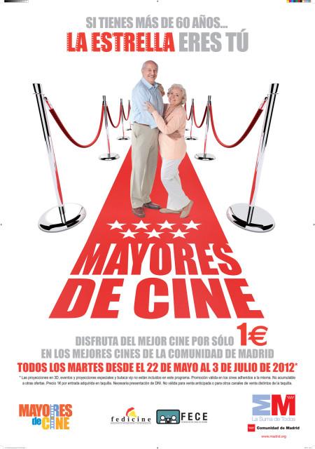 70X100 Campaña 2012 Cartel Cine