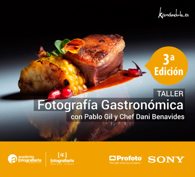 Taller foto gastronomica Pablo Gil