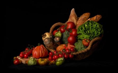 Bodegón Clásico - Verduras
