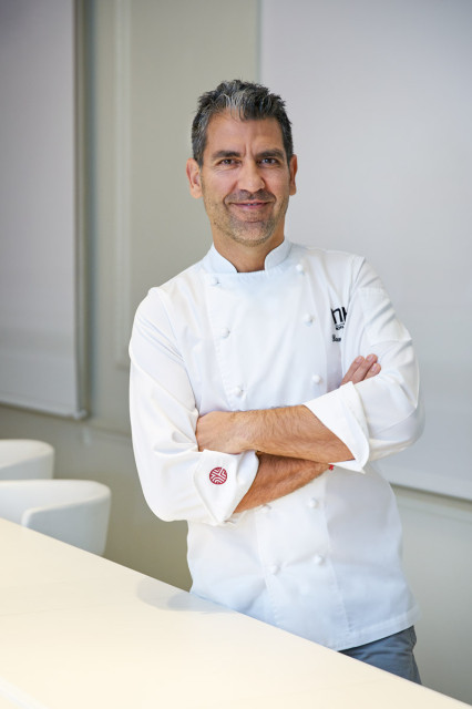 Chef Paco Roncero, Restaurante El Laboratorio, Casino de Madrid