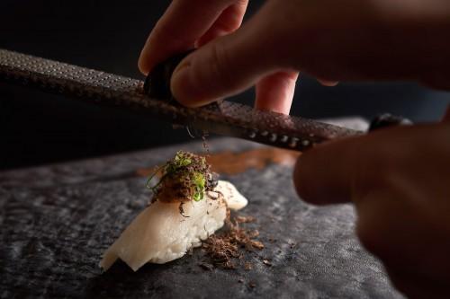 Nigiri White Fish & Tartuffo