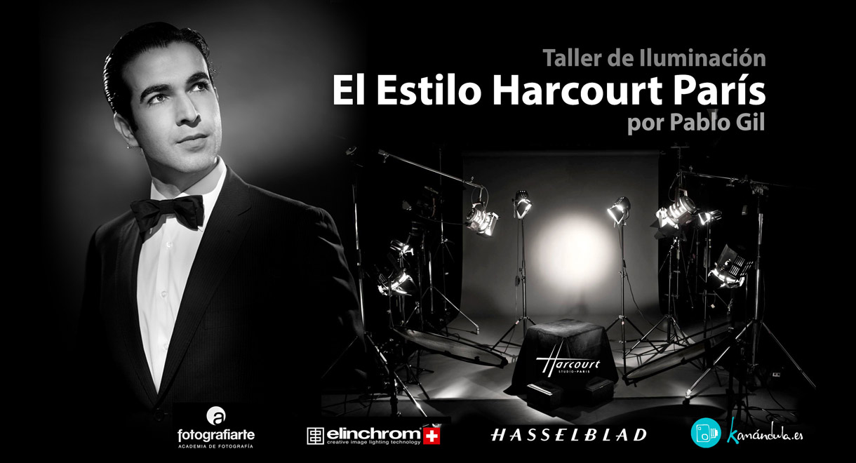 Workshop Harcourt Iluminacion de estudio Curso  Taller fotografia