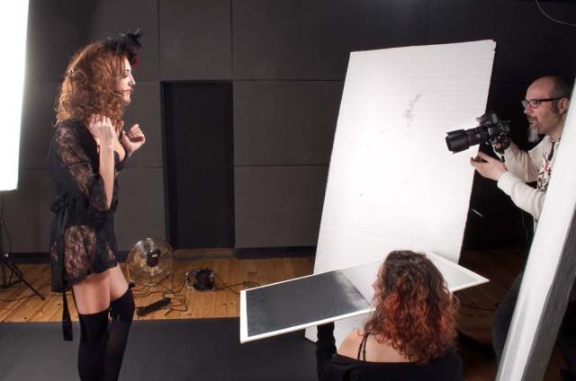 Making Of Esther Calma