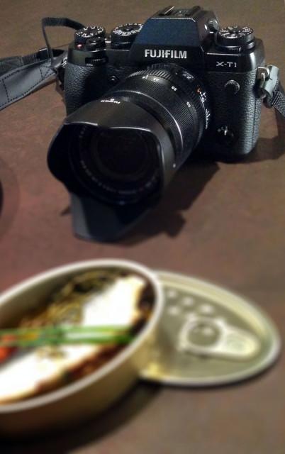 Fujifilm XT1 foto gastronomica
