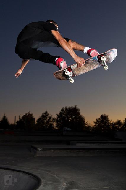 Skate volador