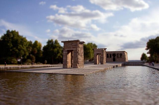 Templo de Debod TiltShift