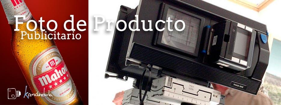 Foto de producto publicitario