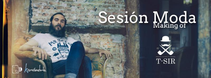 Sesion de moda publicitaria Pablo Gil