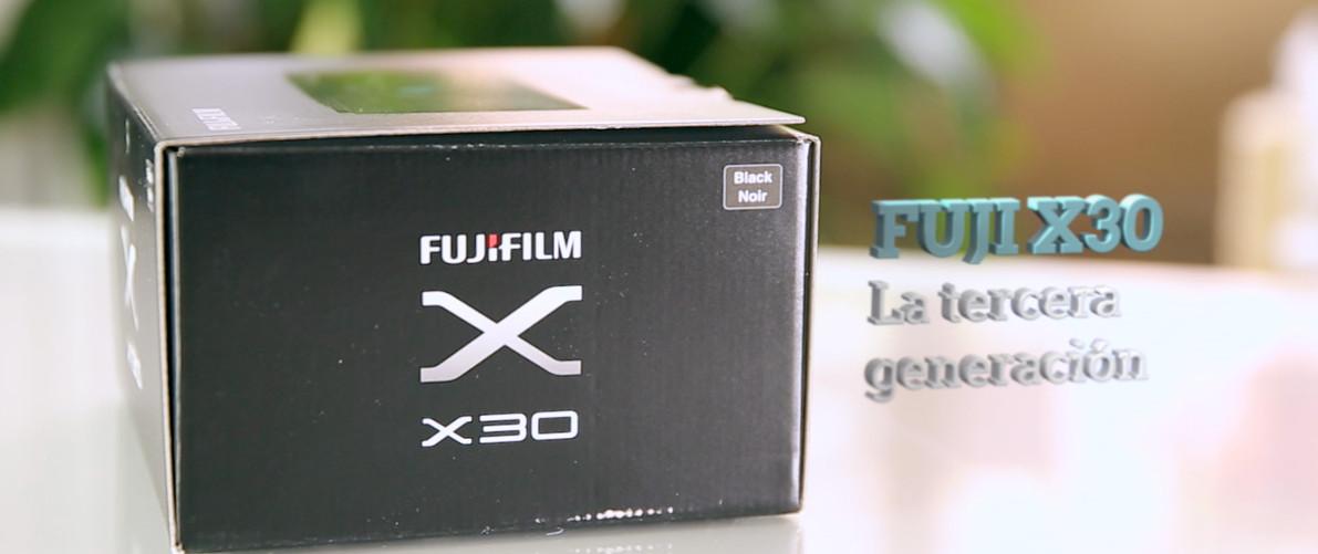 Fuji X30 Review en Español