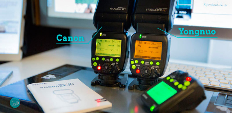 Canon 600EX-RT vs YN 600EX-RT Review Español