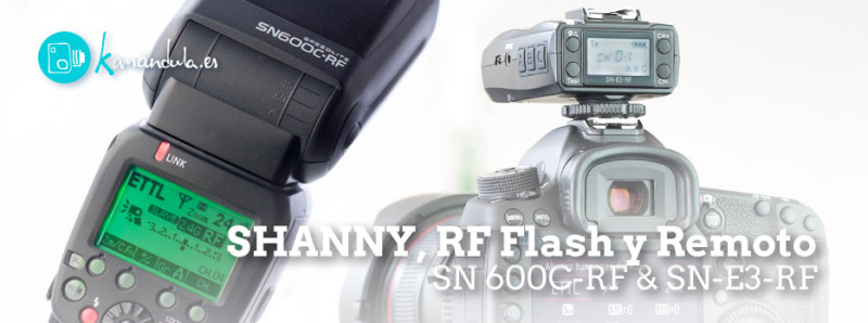 Review Shanny SC600C-RF Español