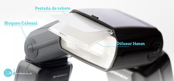 Review en Español Cabezal del SHANNY SN600C-RF