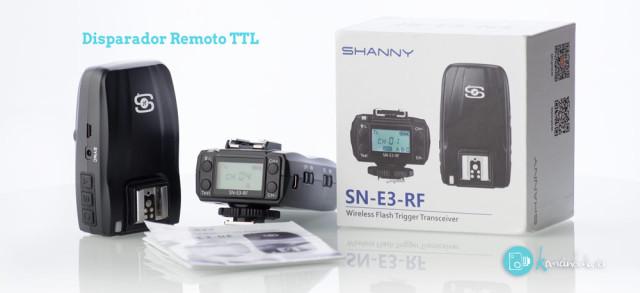 Disparador Remoto Producto SN-E3-RF