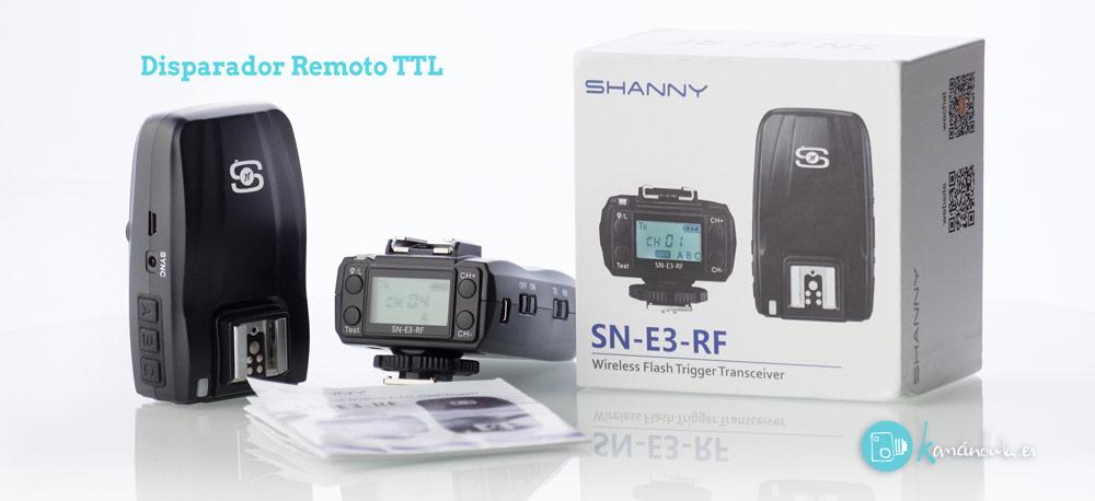 Review en Español SHANNY SN-E3-RF Presentacion de producto