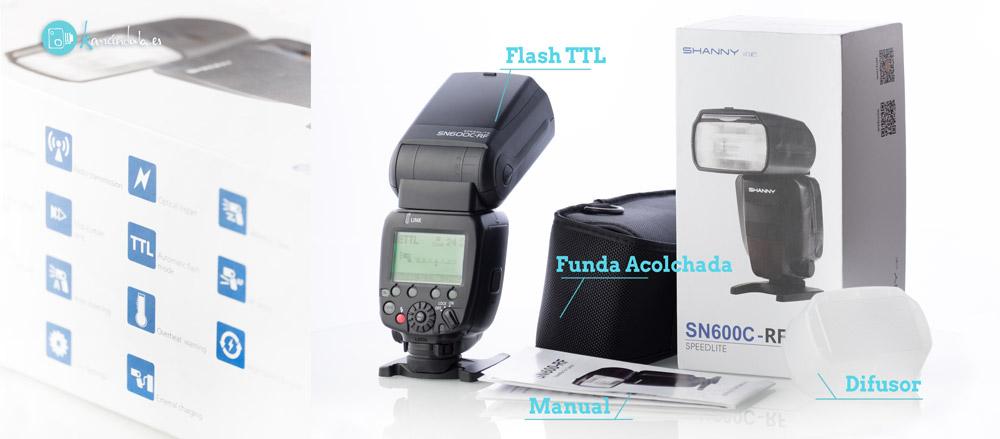 Review en Español SHANNY SN600C-RF Presentación de producto