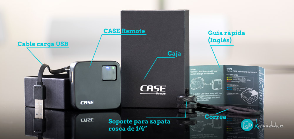 Case Remote Cheering Tech Packaging