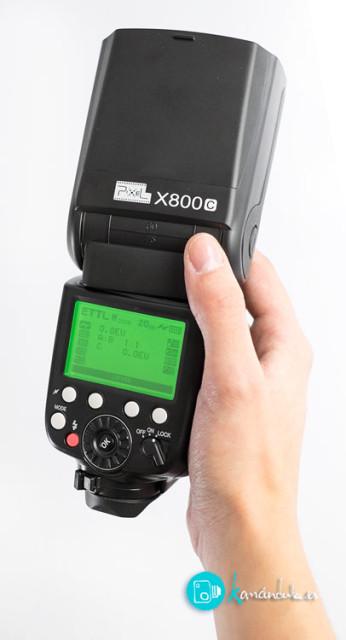 Flash de Mano X800C