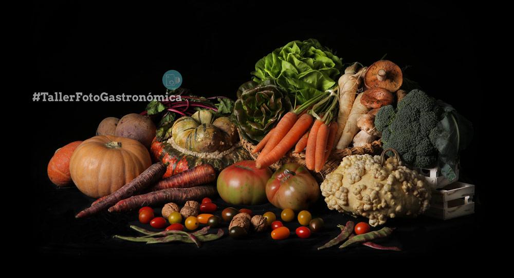 Taller Foto gastronomica Pablo Gil Bodegon Clasico