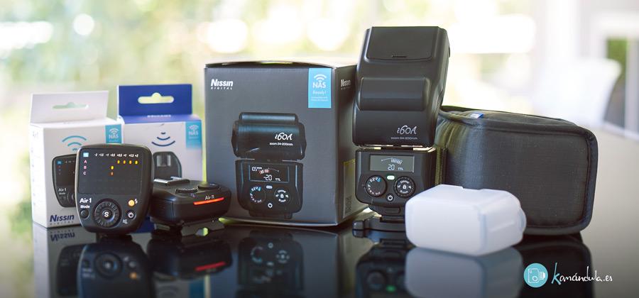 Presentacion de product NISSIN i60A SONY FUJI