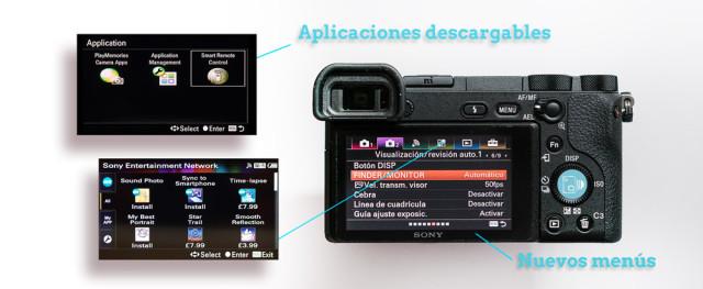 Aplicaiones SONY A6500 Review Esp