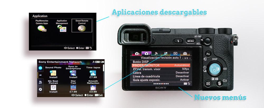 Aplicaciones SONY A6500 Review Esp