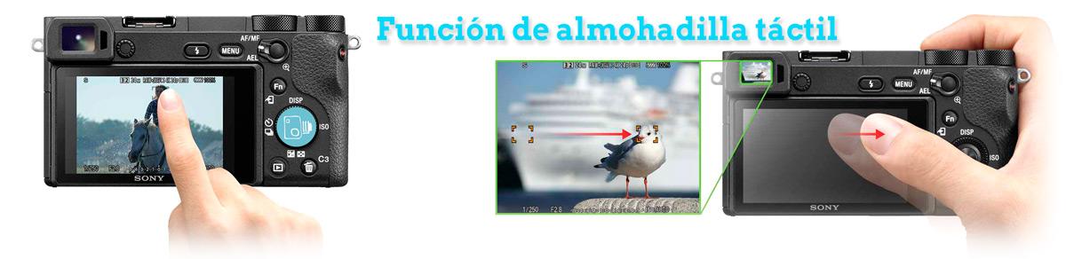 Funcion Almohadilla Tactil Review Español A6500 SONY