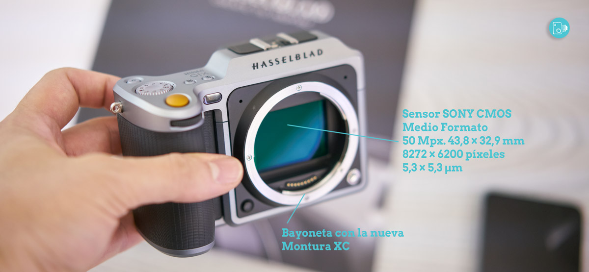 Sensor X1D Hasselblad Review Español Spanish