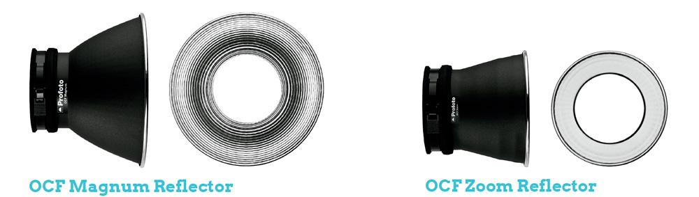 Modificadores OCF Reflectors B1X PROFOTO