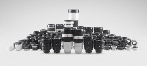 Sony familia de opticas A7RIII FE Montura E